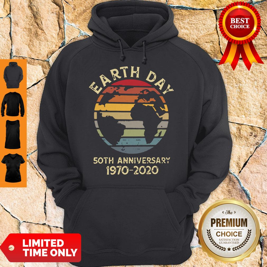 Official Retro Earth Day 50th Anniversary 1970 Retro Sunset Shirt - 5