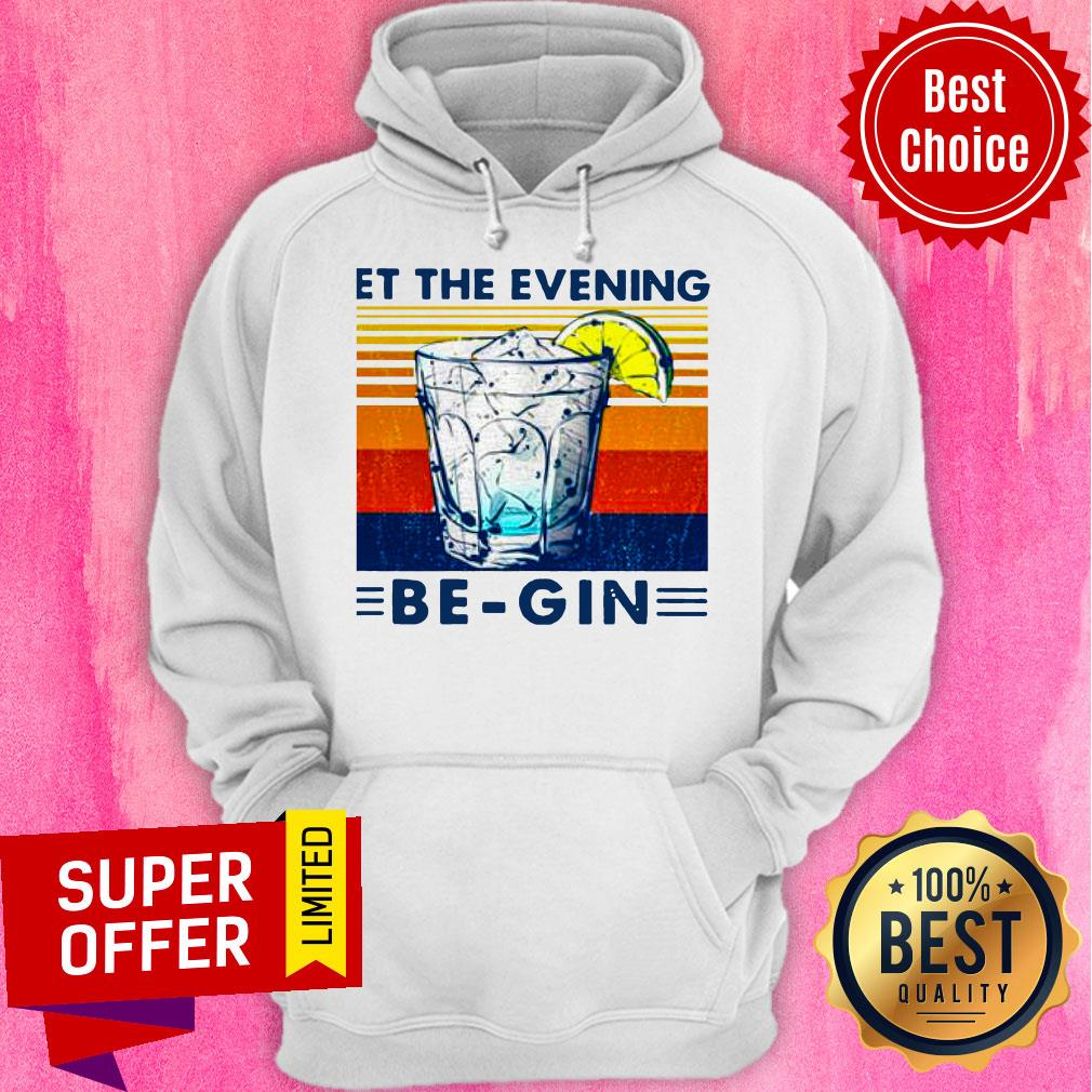 Premium Wine Let The Evening Be-gin Vintage Shirt - 3