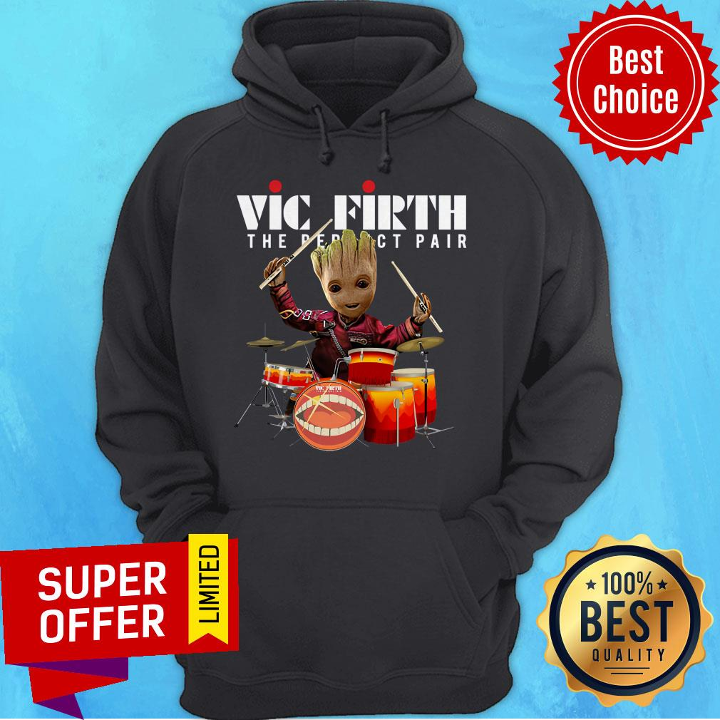 Nice Baby Groot Vic Firth The Perfect Pair Shirt - 9