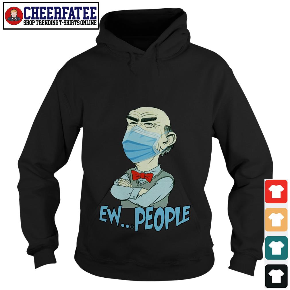 OFFICIAL Jeff Dunham face mask EW people Covid 19 shirt - 3