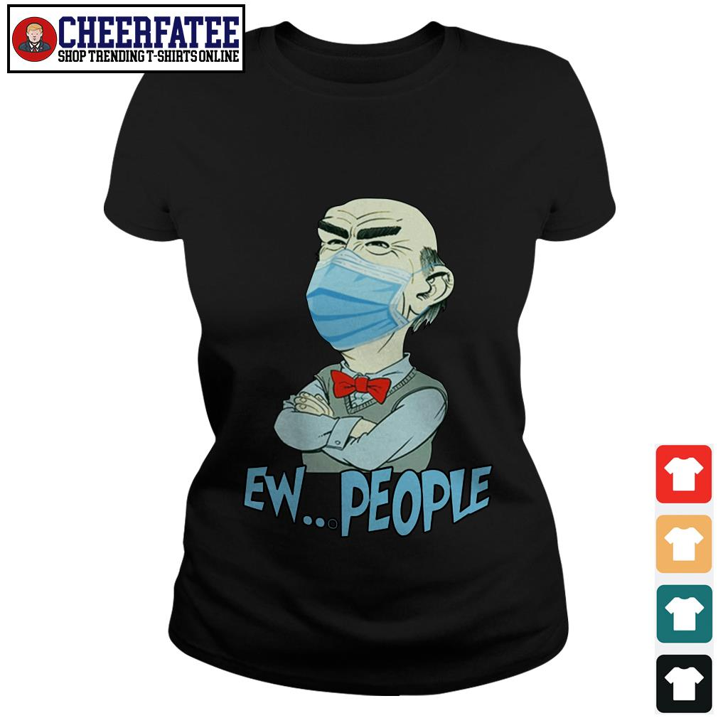 OFFICIAL Jeff Dunham face mask EW people Covid 19 shirt - 2