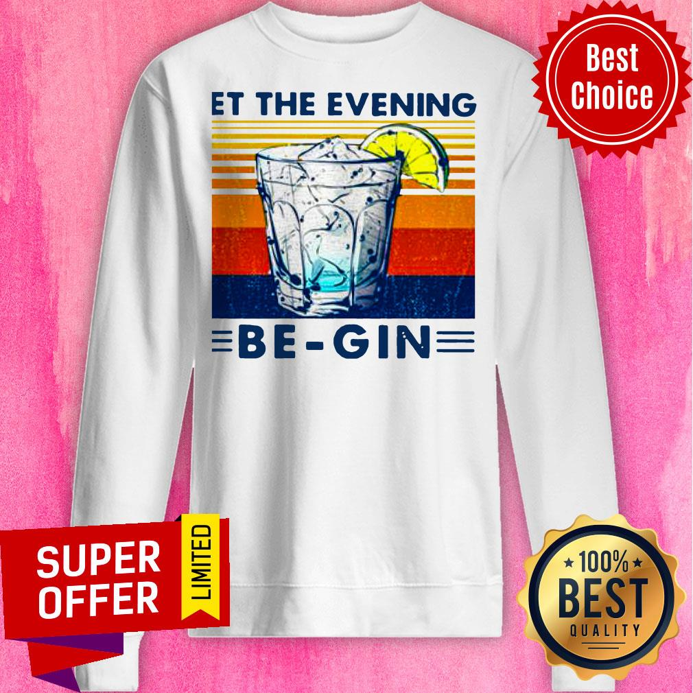 Premium Wine Let The Evening Be-gin Vintage Shirt - 2