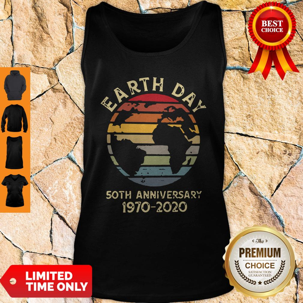 Official Retro Earth Day 50th Anniversary 1970 Retro Sunset Shirt - 4