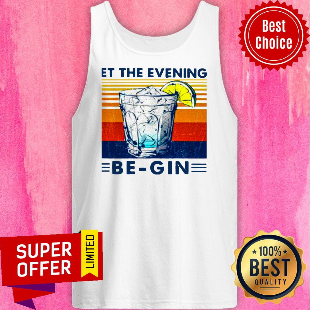 Premium Wine Let The Evening Be-gin Vintage Shirt - 5