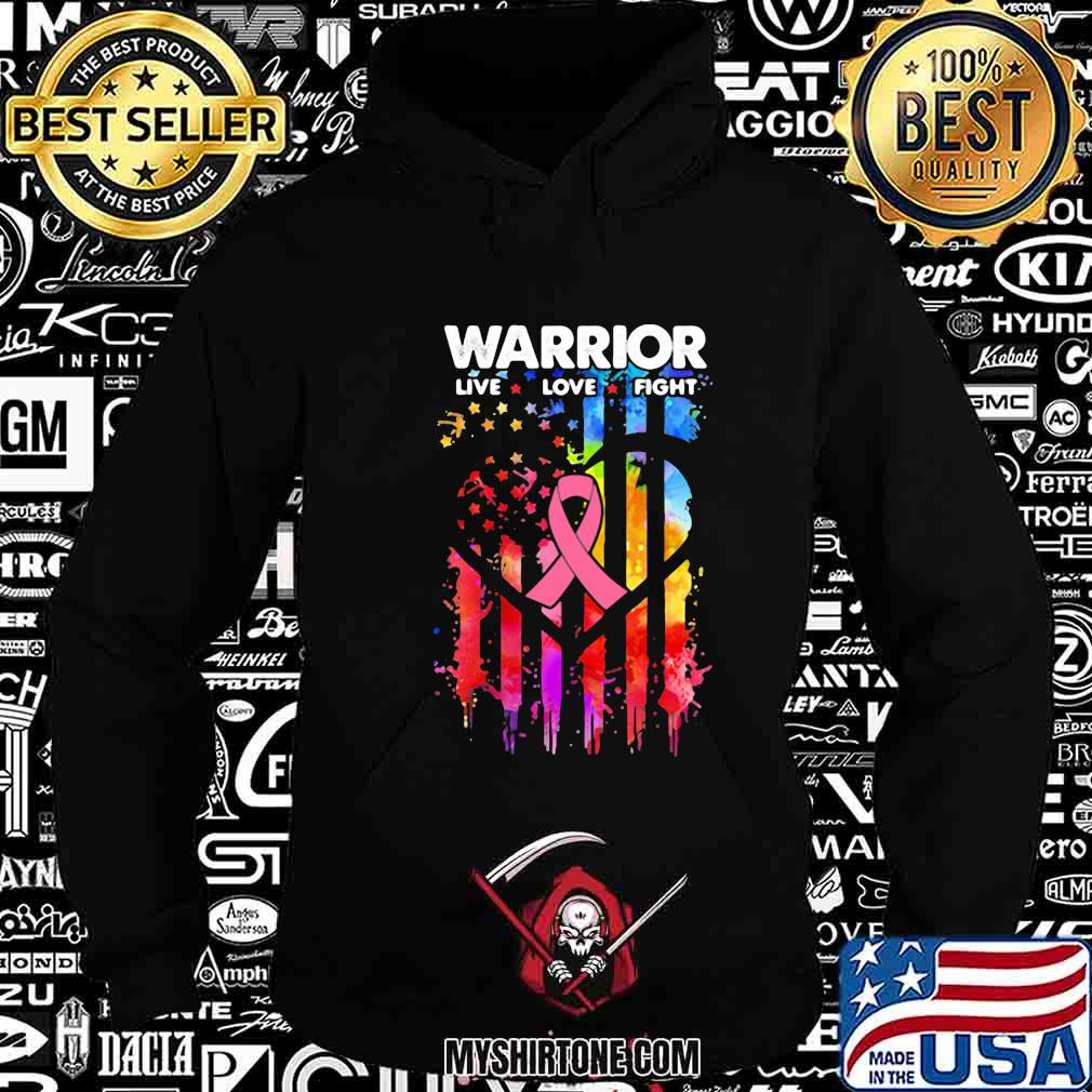 Independence day warrior live love fight shirt
