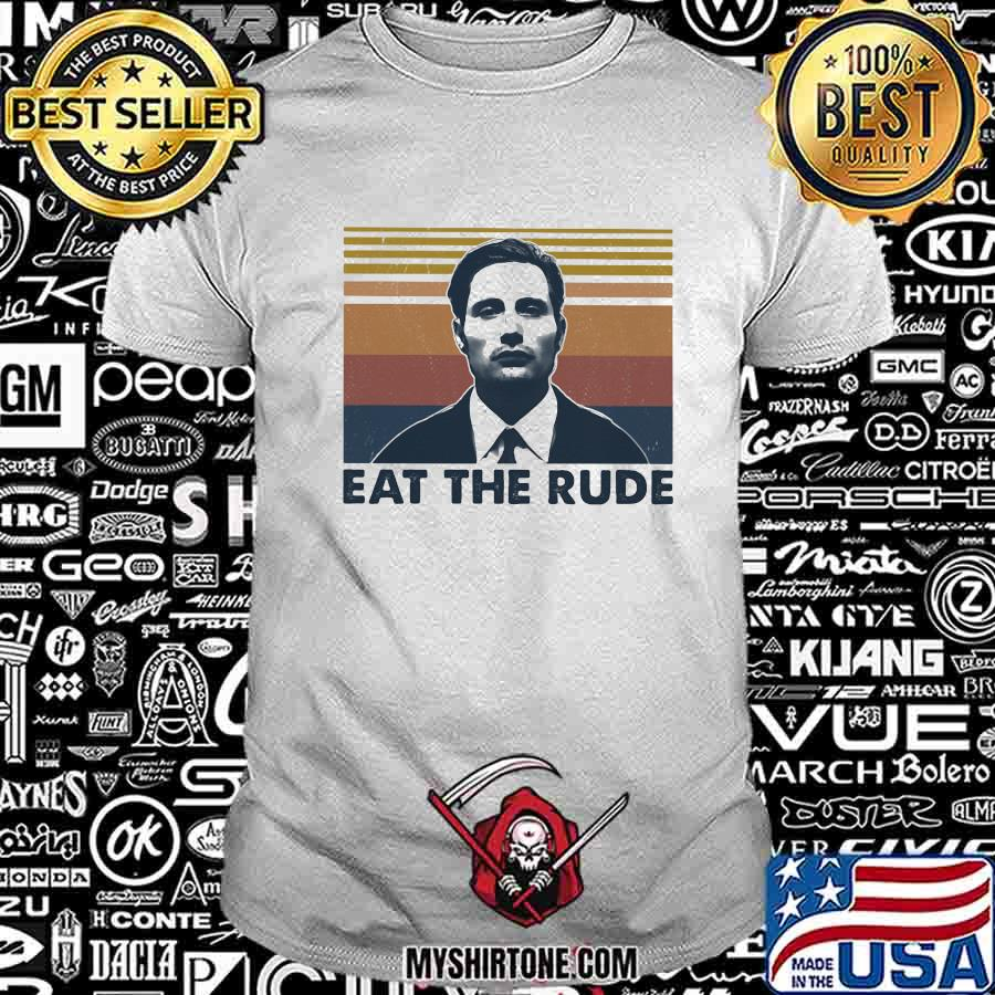 Official eat the rude man vintage shirt