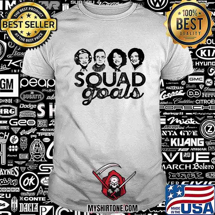 Supreme Court Justices Ruth bader ginsburg squad goals shirt