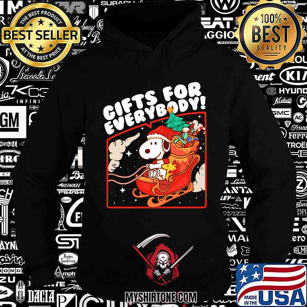 Snoopy gifts for everybody christmas shirt