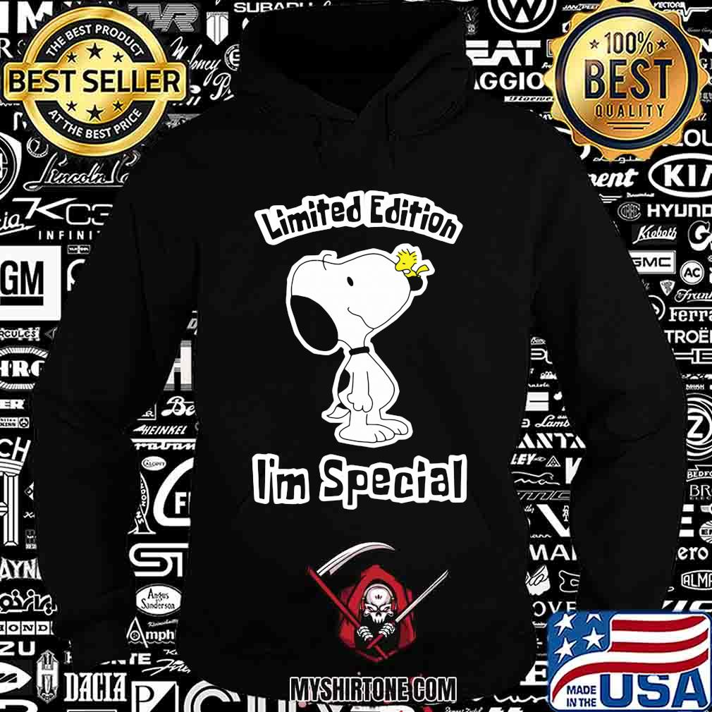 Snoopy limited edition i'm special shirt