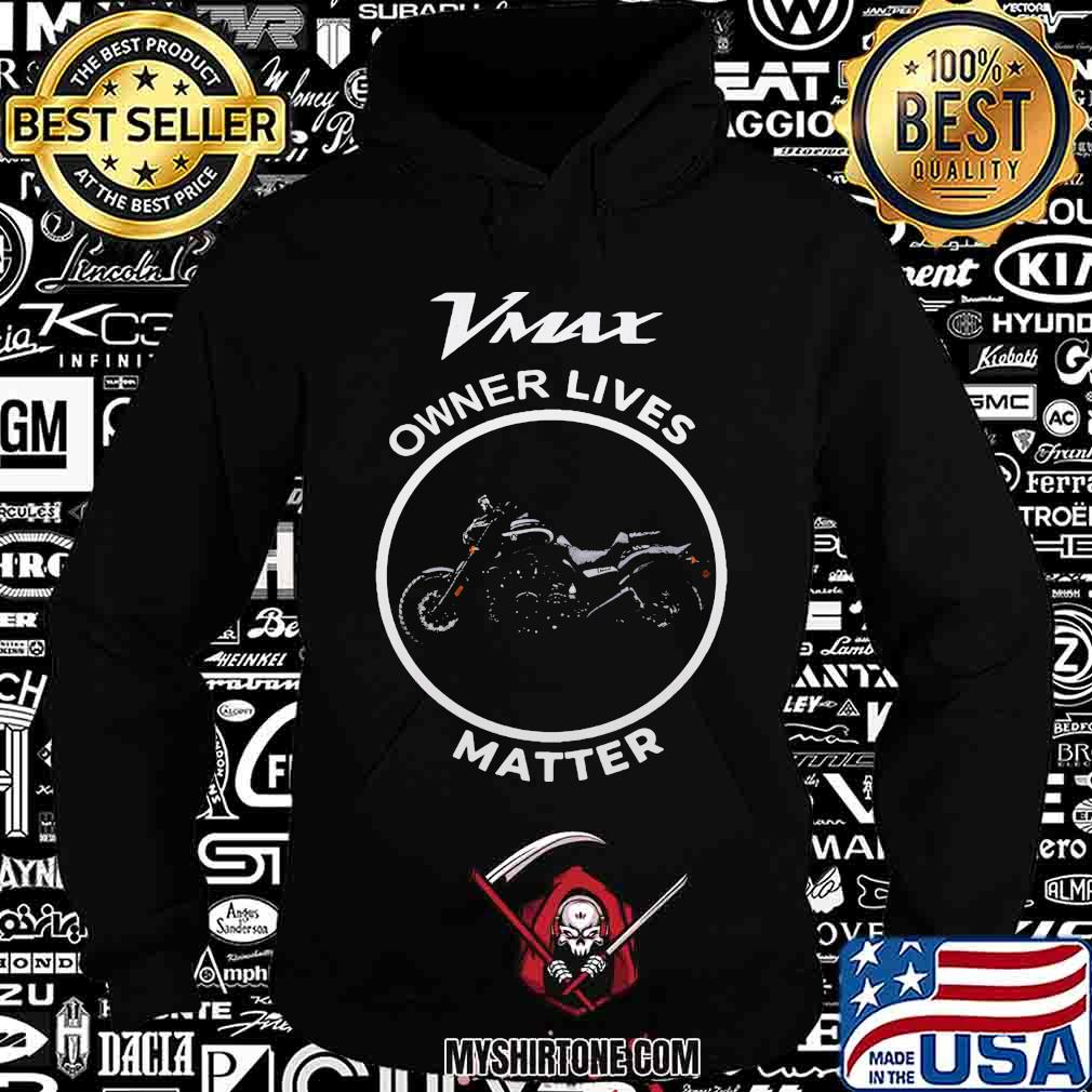 Vmax owner lives matter motorcycle shirt
