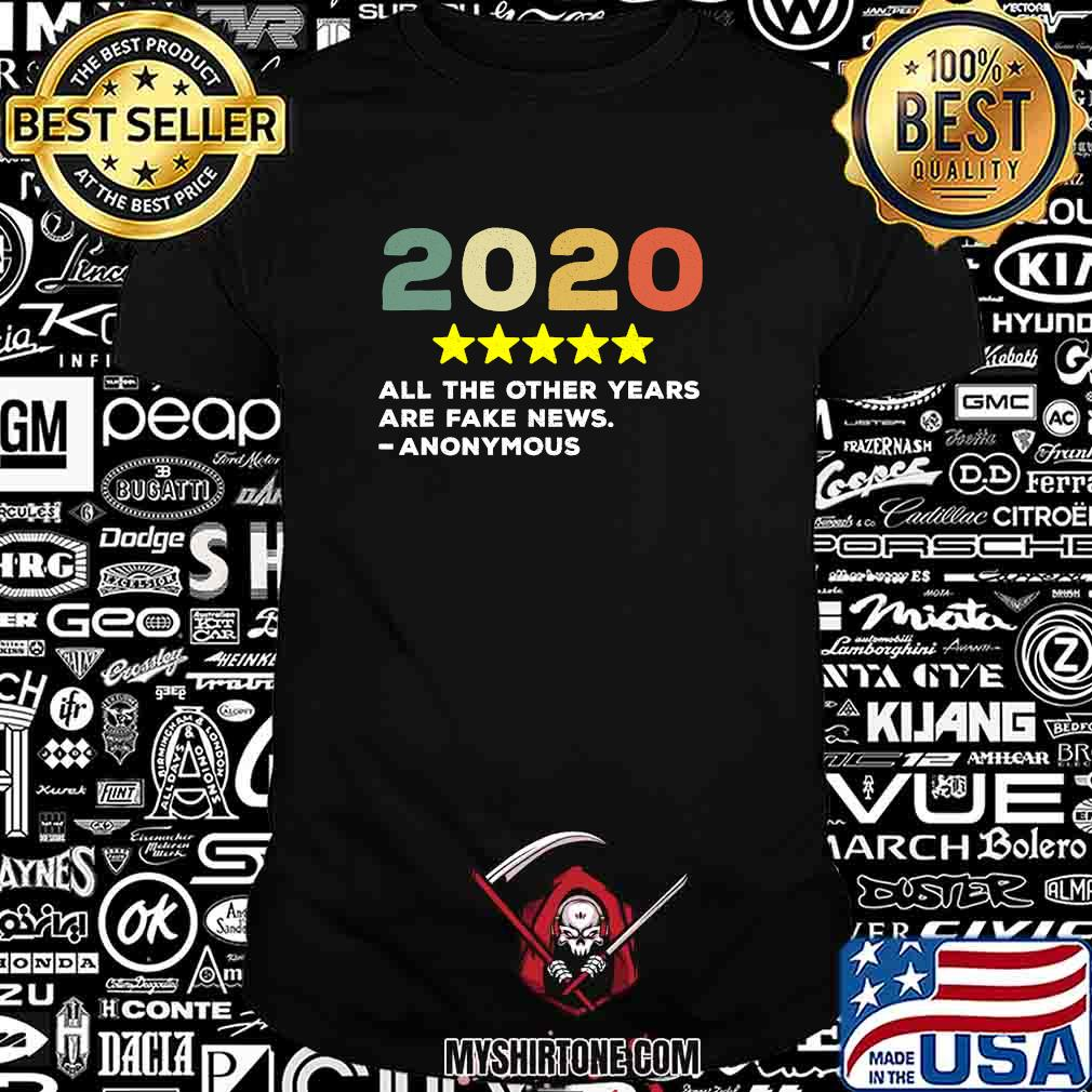 2020 Would Recommend Anonymous Trump Shirt