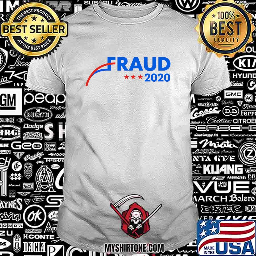 Official election 2020 fraud stars shirt