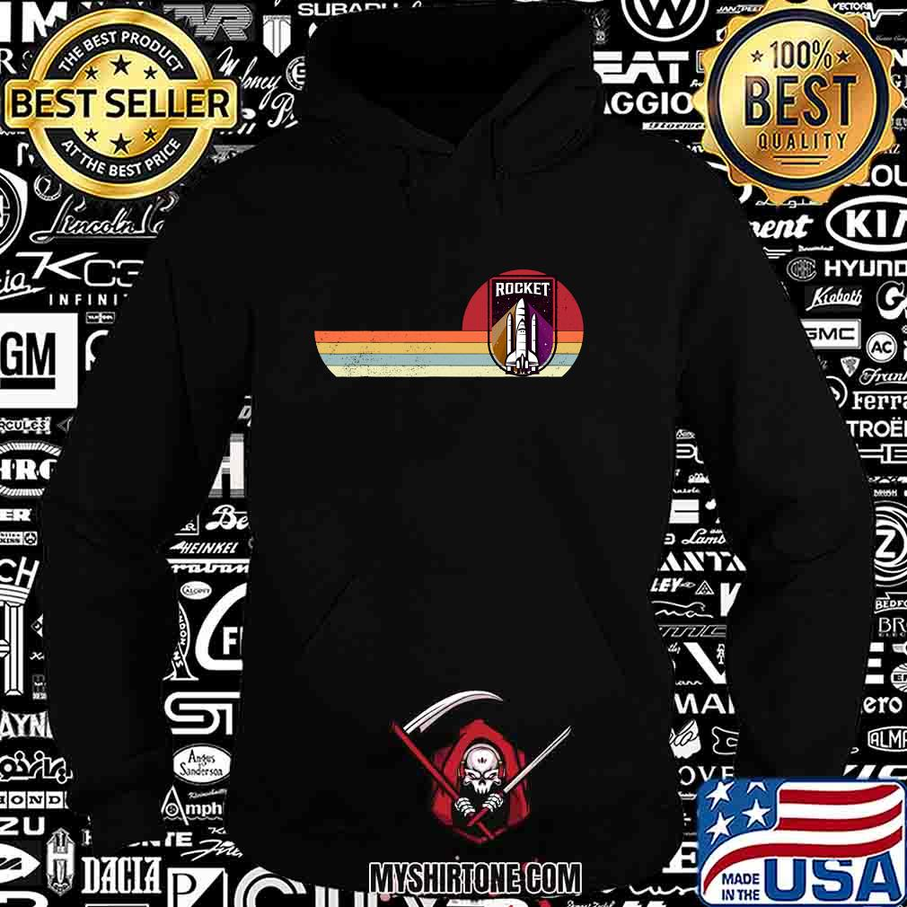 Space Ship Astronaut Science Rocket Vintage Retro Shirt Hoodie