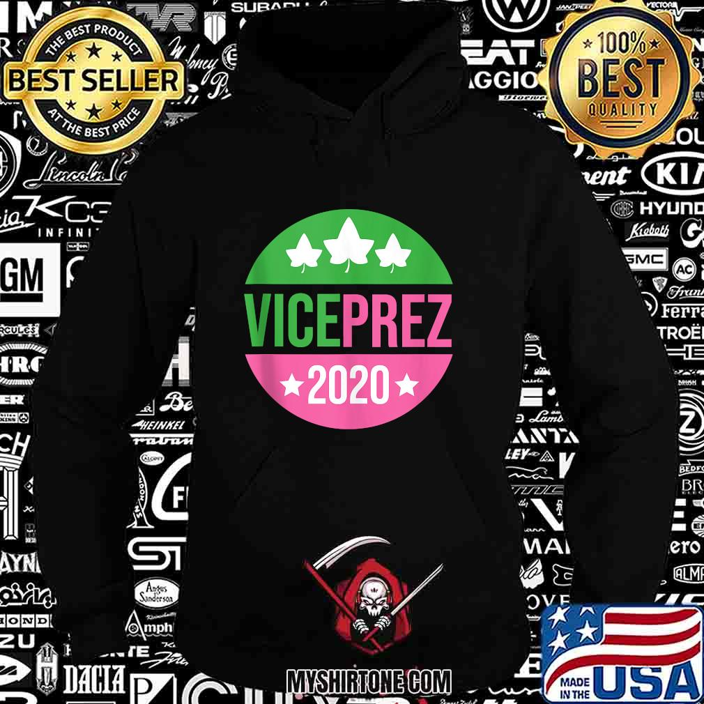 Vice President Harris Aka Sorority Pink Green Prez Vote 2020 Shirt Hoodie