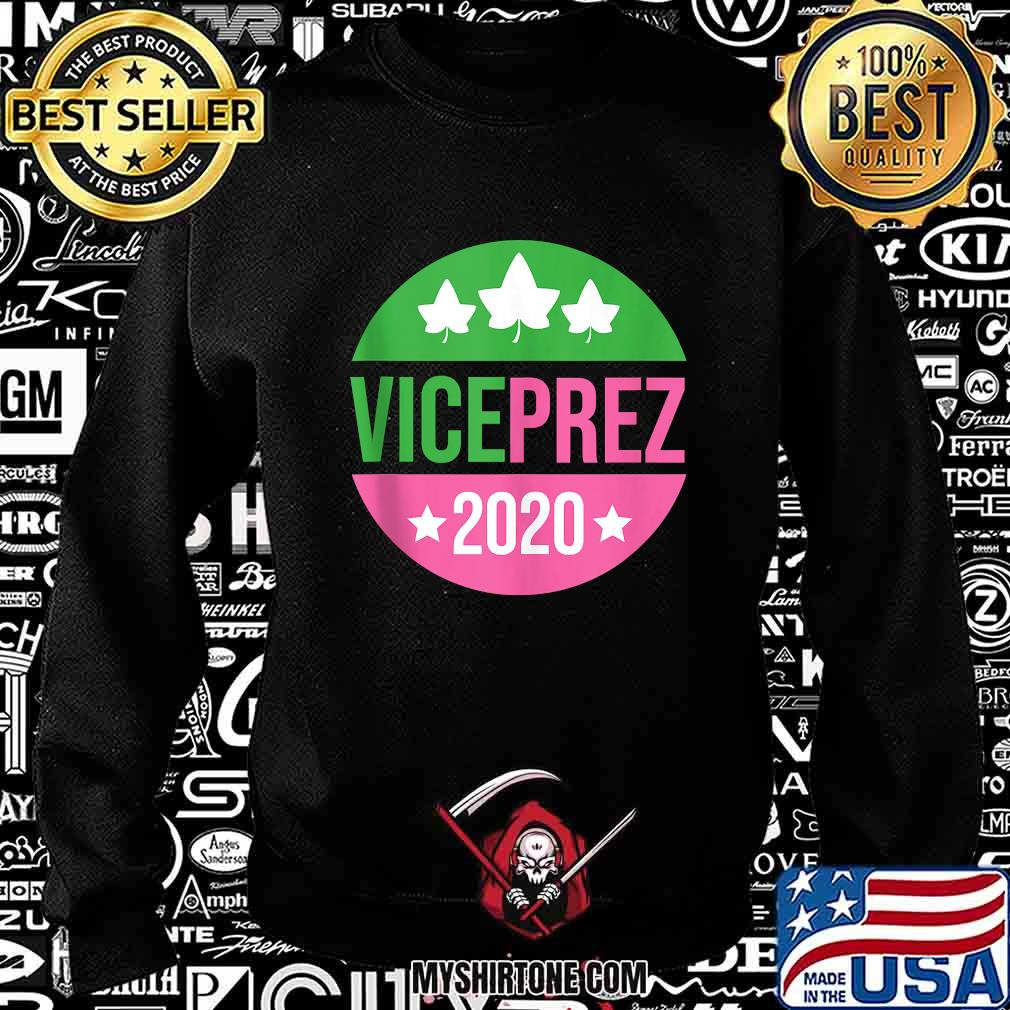 Vice President Harris Aka Sorority Pink Green Prez Vote 2020 Shirt Sweatshirt
