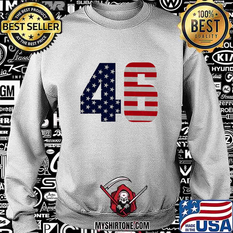 Vintage 46 Outfit American Flag Shirt Sweatshirt