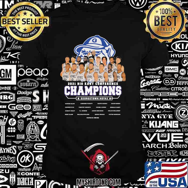 2021 Big East Conference Champions Georgetown Hoyas Shirt