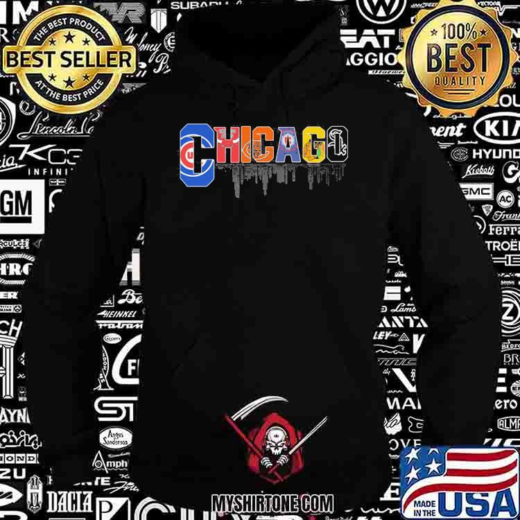 Chicago All Team Baseball Shirt Hoodie