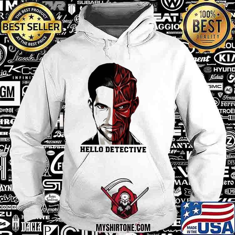 Fancy Hello Detective Men And Evil One Person Horror Shirt Hoodie
