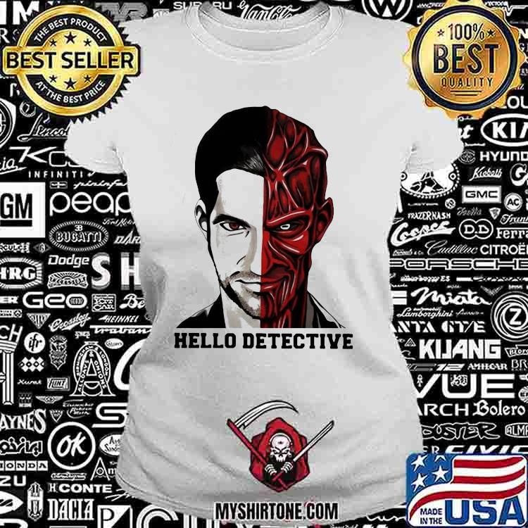 Fancy Hello Detective Men And Evil One Person Horror Shirt Ladiestee