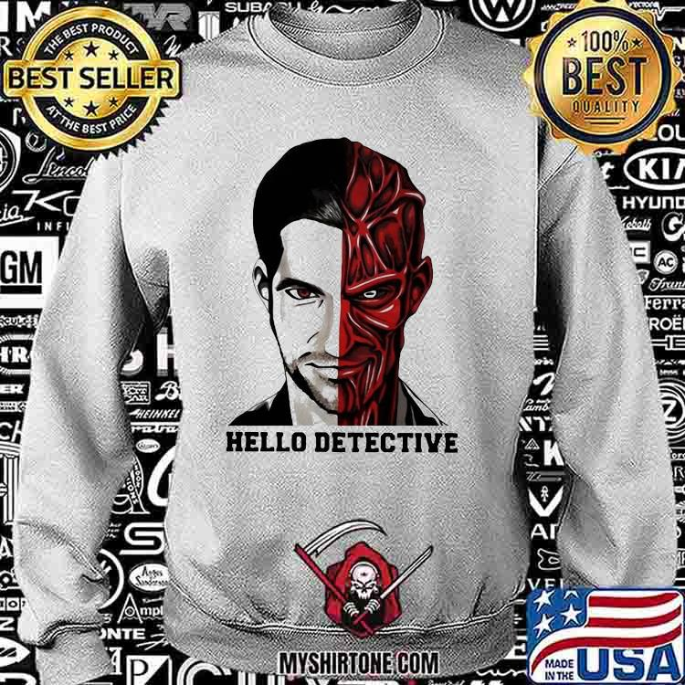 Fancy Hello Detective Men And Evil One Person Horror Shirt Sweatshirt