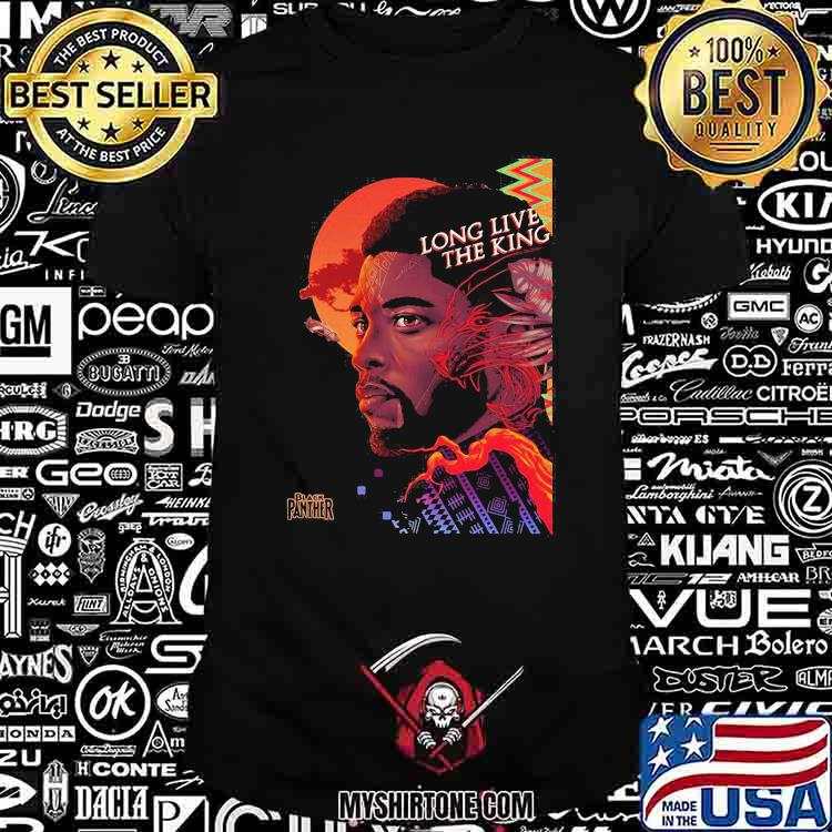 Long Live The King Of Wakanda Forever Black Panther Shirt