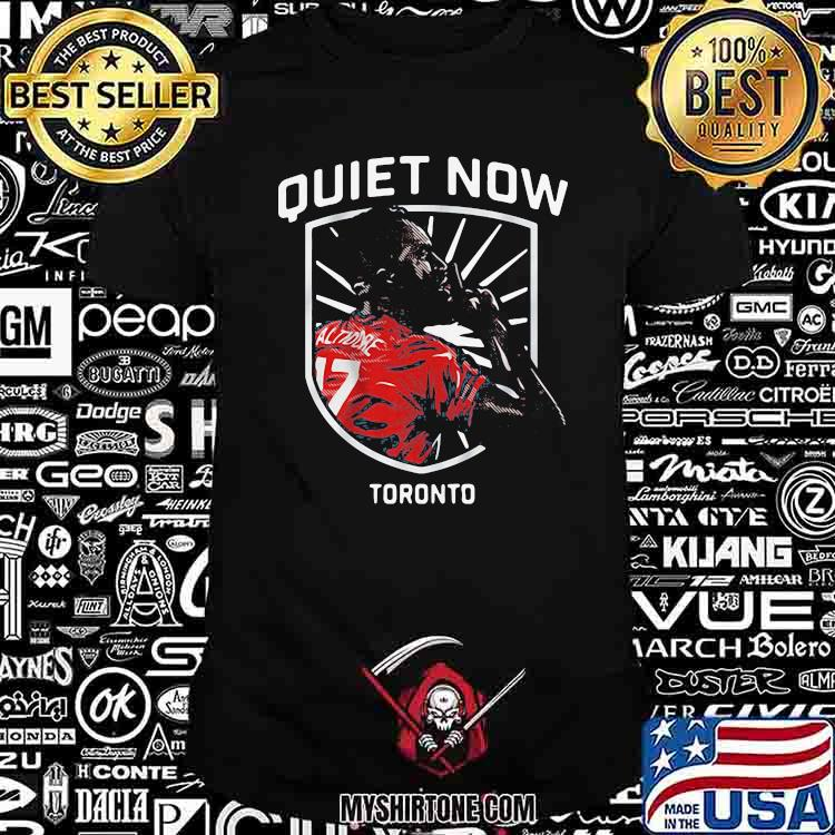 Prize Jozy Altidore Quiet Now Toronto Basketball Shirt