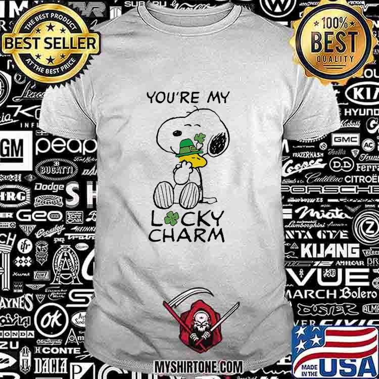You're My Lucky Charm Snoopy And Woodstock Patricks Day Shirt