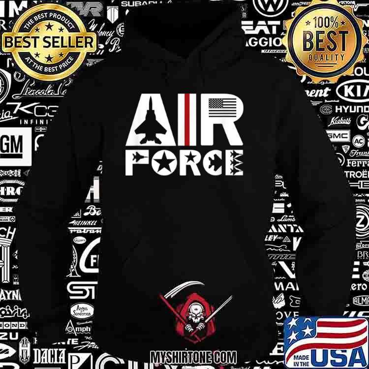 Air Force with F15 Jet Shirt Hoodie