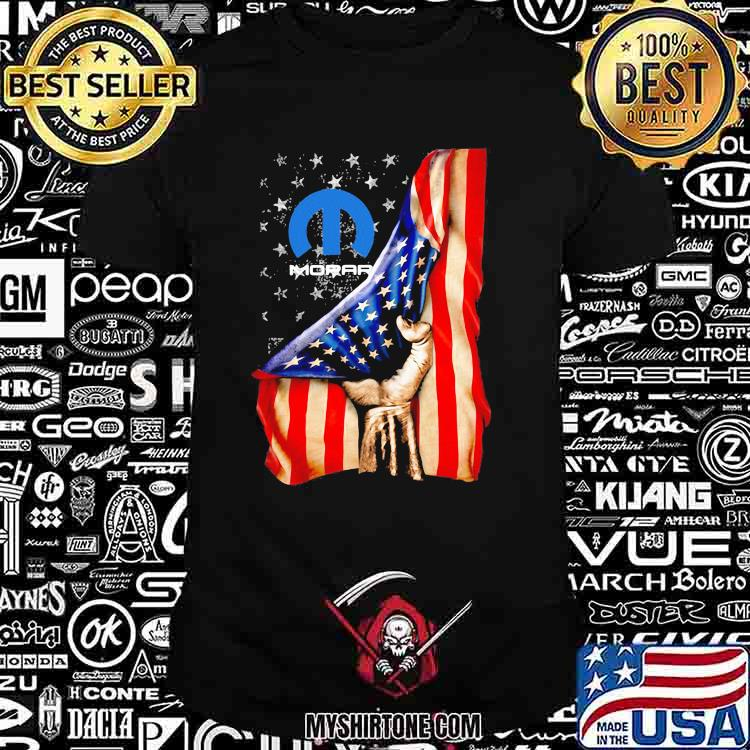 American Flag With Mopar Logo Shirt