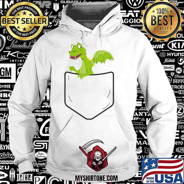 Cool Dragon in Your Pocket Funny Dragons Lover Gift Shirt Hoodie