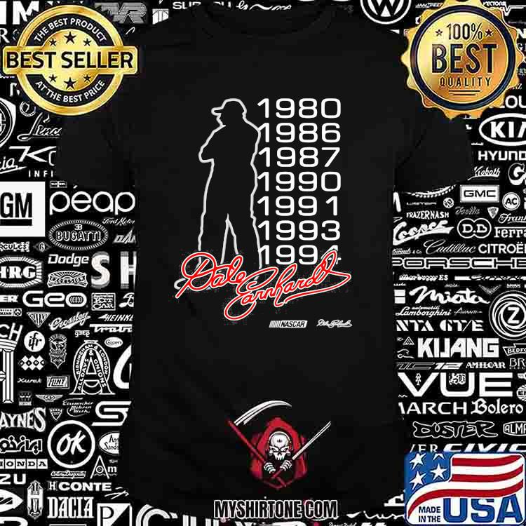 Dale Earnhardt Nascar Racing Signature 1980 1994 Shirt