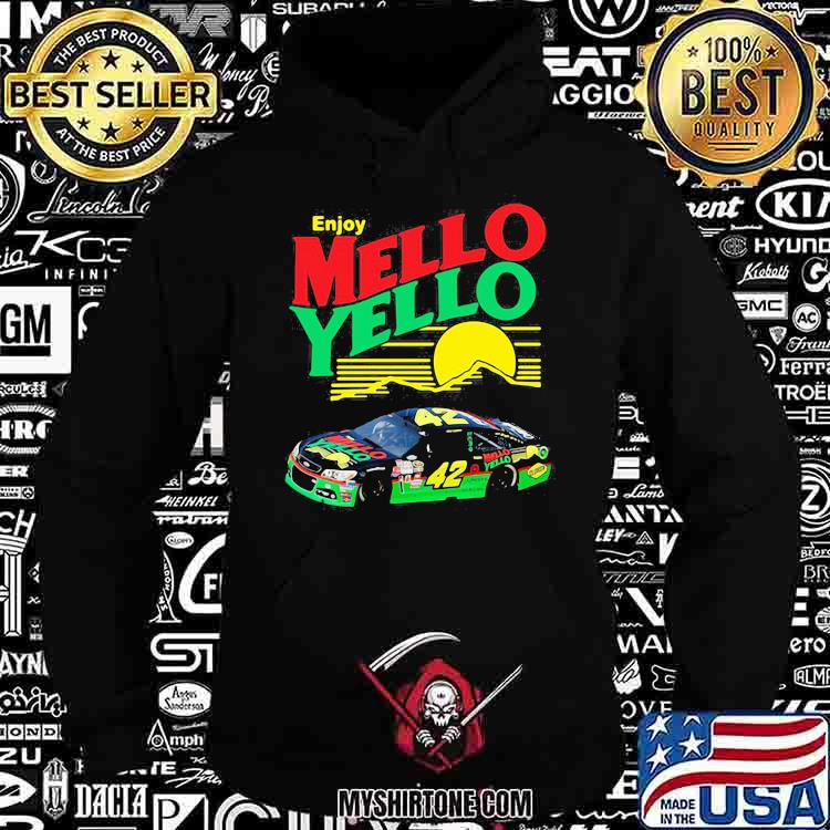 Enjoy Mello Yello Sunset Nascar Kyle Larson Shirt Hoodie