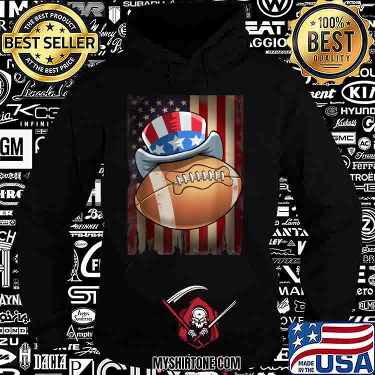 Football 4th of July Funny Men Women Gift Shirt Hoodie