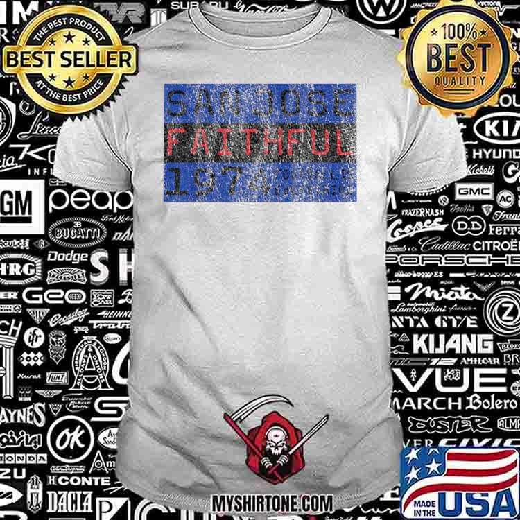 Football Is Everything San Jose Faithful 80s Retro Shirt
