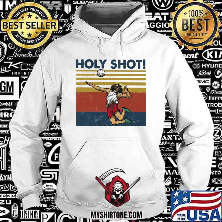 Holy Shot Jesus Volleyball Vintage Shirt Hoodie