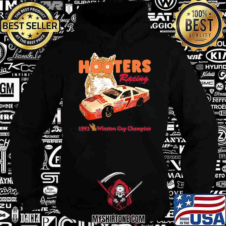 Nascar Alan Hooters Racing 1992 Winston Cup Champion Owl Shirt Hoodie