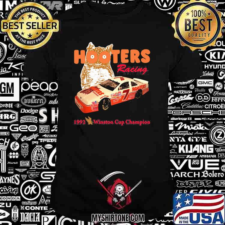 Nascar Alan Hooters Racing 1992 Winston Cup Champion Owl Shirt