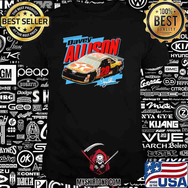 Nascar Davey Allison Signature Shirt