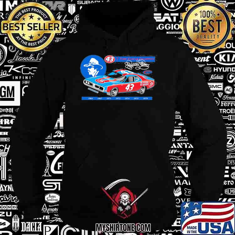 Nascar Richard Petty Since 7 Time Champion 1969 Shirt Hoodie