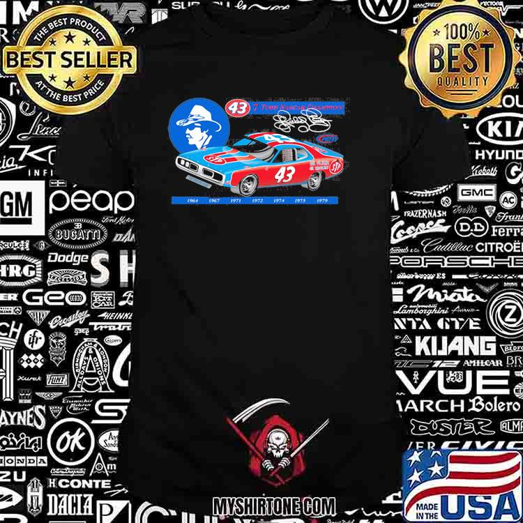Nascar Richard Petty Since 7 Time Champion 1969 Shirt