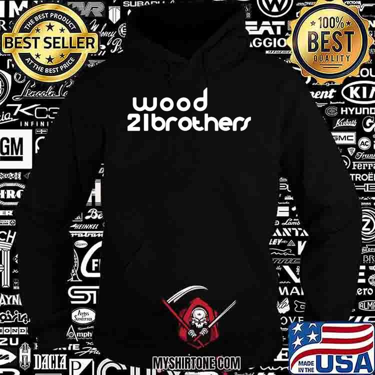 Nascar Ryan Blaney Wood 21brothers Shirt Hoodie