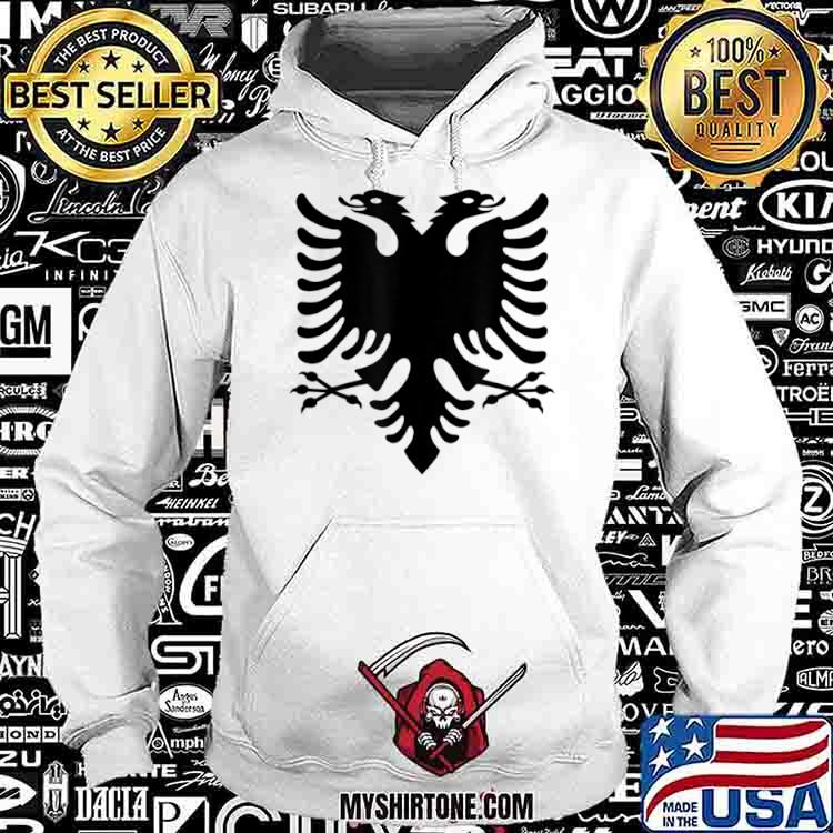 Official Albania Flag Shirt Hoodie