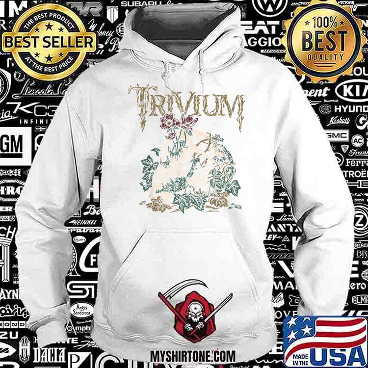 Trivium Skelly Flower Shirt Hoodie