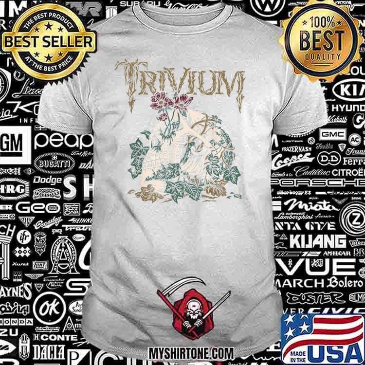 Trivium Skelly Flower Shirt